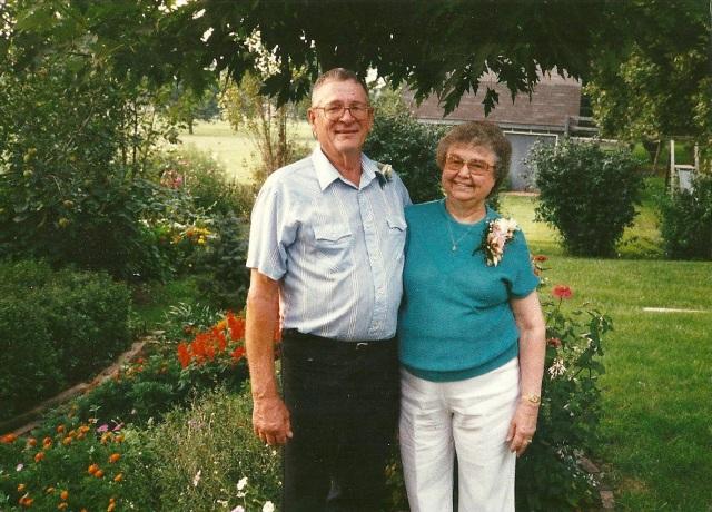 Grandma & Grandpa 60th anniversary