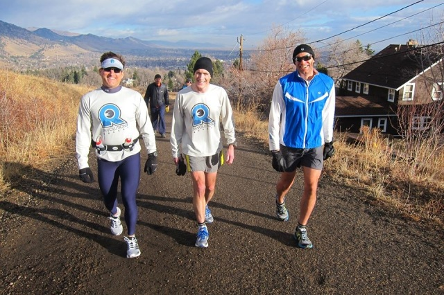 David, Chris and I.  Boulder, Jan 2013